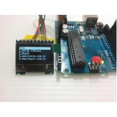 KSM110  白色 12864 OLED SPI 液晶模組