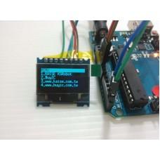 KSM113 藍色 SPI 12864 OLED  液晶模組