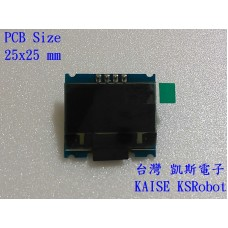 KSM116 黃藍色 IIC 12864 OLED  液晶模組