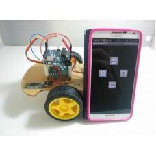 KSRobot KSR001 Arduino版 Android手機 藍芽 遙控自走車